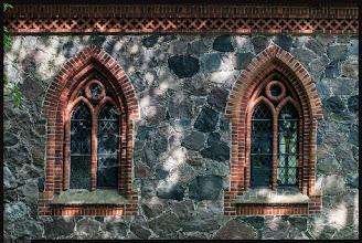 Photo: Der Saalbau der Dorfkirche zu Liepen bei Klein - Vielen ist im Jahre 1888 aus Granitstein errichtet.