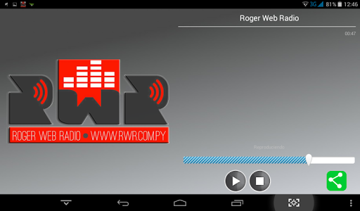 Roger Web Radio screenshot 1