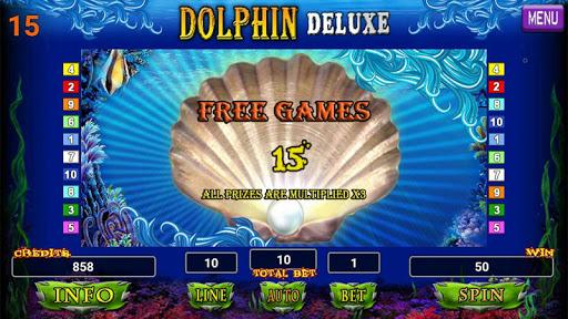 Dolphin Deluxe Slot 1.2 screenshots 14
