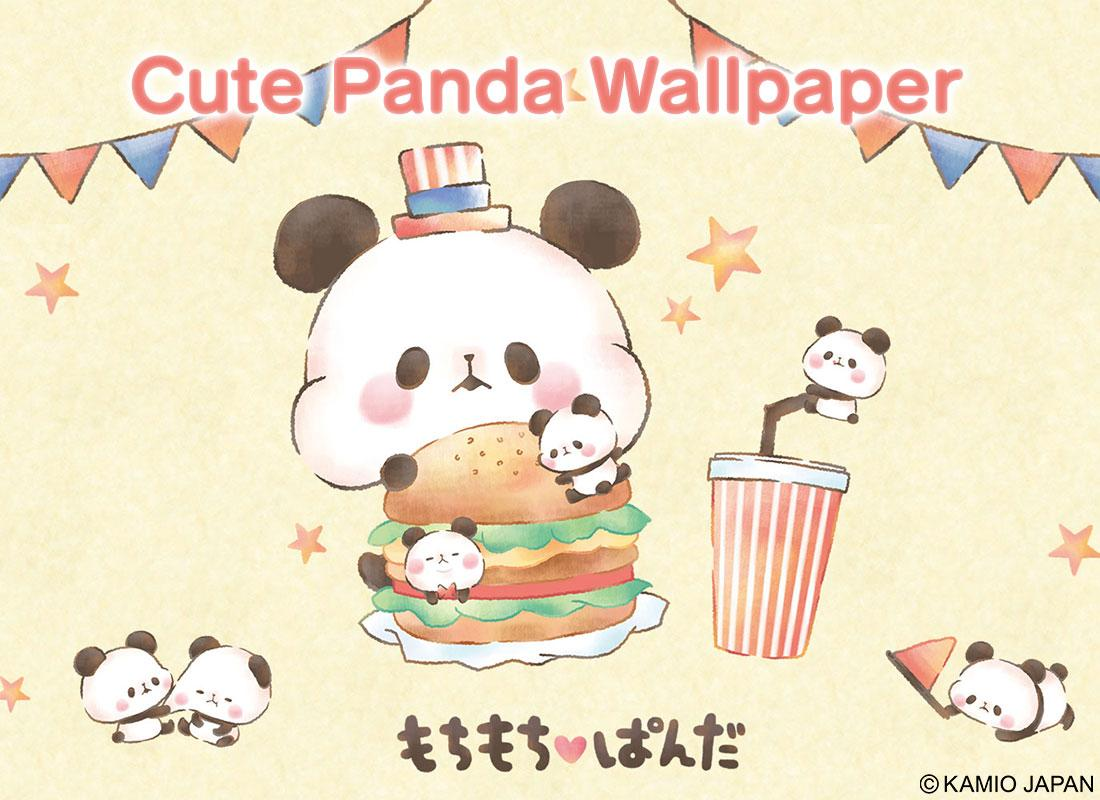 Wallpaper MOCHI MOCHI PANDA- screenshot