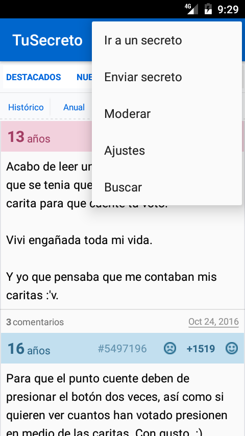 TuSecreto- screenshot