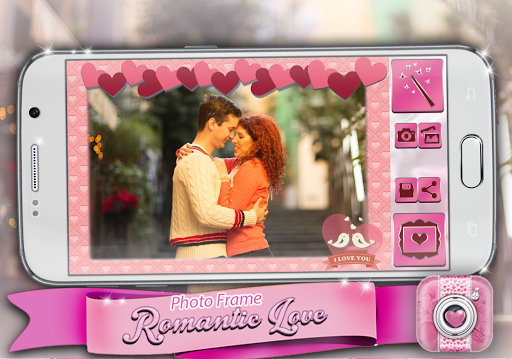 玩免費娛樂APP 下載ロマンチックな愛のフォトフレーム app不用錢 硬是要APP