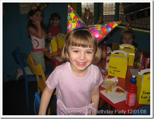 Codie's 5th Birthday Party @ Fuzzy Eds