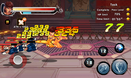 Kung Fu Attack 4 screenshot 2