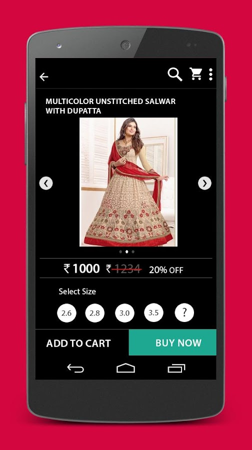 Online Shopping App For Women- screenshot