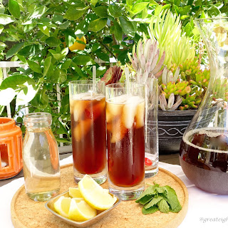 Refreshing (and HEALTHY!) Iced Tea.