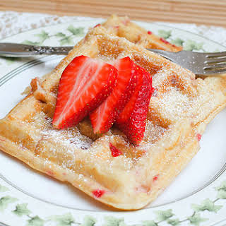 Strawberry Waffles Recipes.