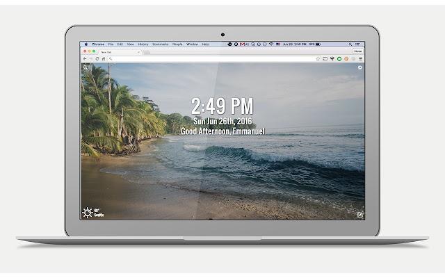 DashTab ~ A New Tab Page for Chrome