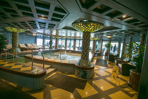 For a surcharge, guests can rejuvenate mind and body at the Greenhouse Spa & Salon aboard ms Oosterdam.