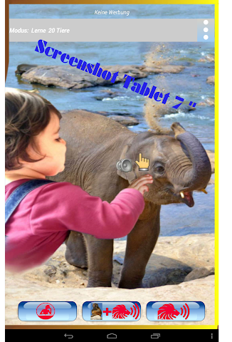 android Kinder Wildtier Zoo Lern&Spiel Screenshot 9
