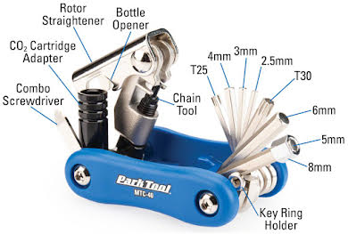 Park Tool MTC-40 Composite Multi-Function Tool alternate image 0