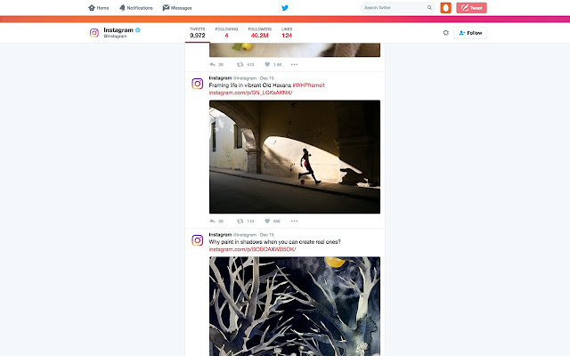 Hipsta - opens image links inside posts