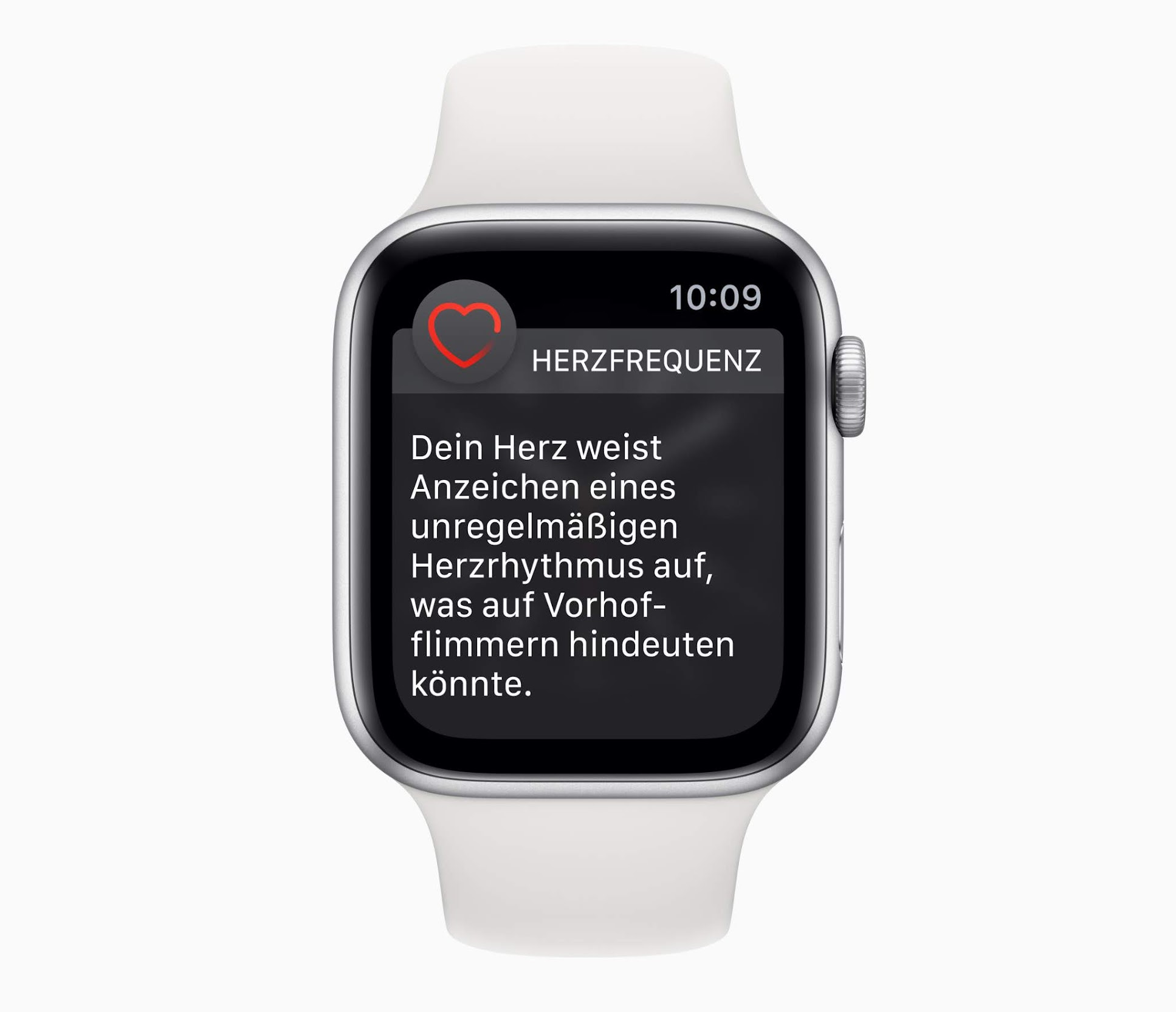 Warnhinweis der Apple Watch