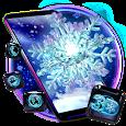 Glow Snow Flake Theme