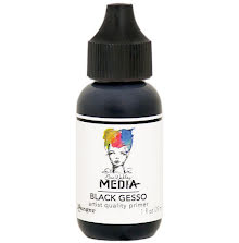 Dina Wakley Media Gesso 29ml - Black