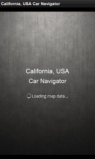 GPS導航 美國加利福尼亞州