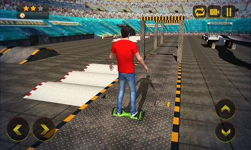 Hoverboard Stunts Hero 2016 Screenshot