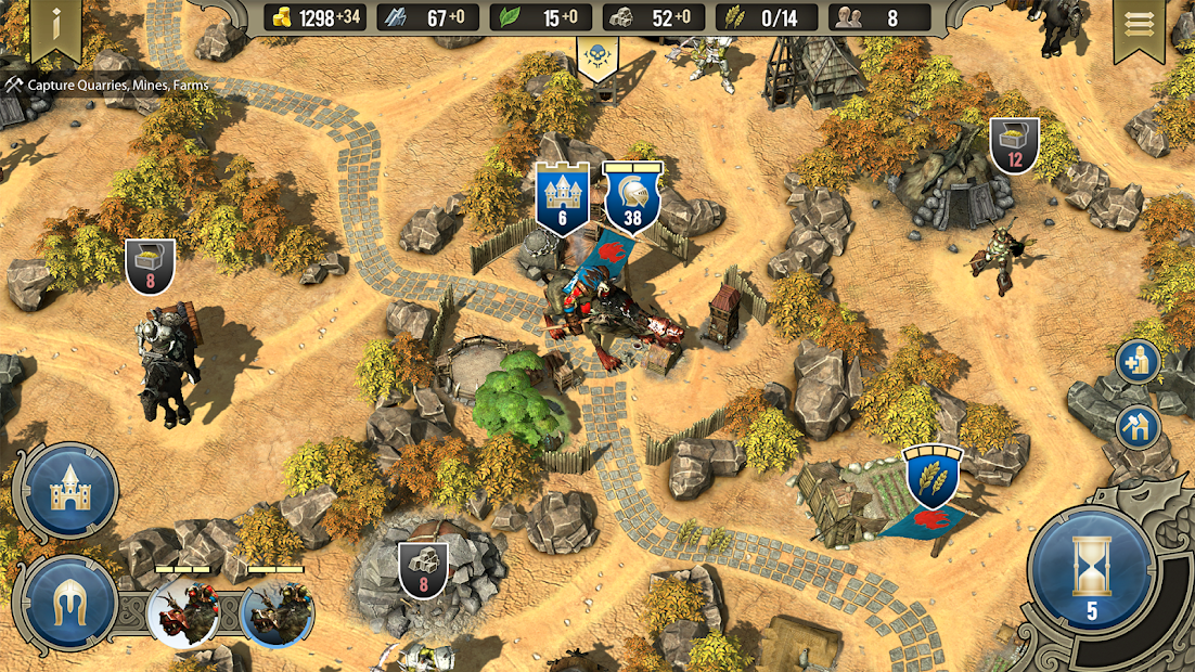 SpellForce: Heroes & Magic Android App Screenshot