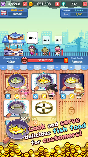 Retro Fish Chef cheat screenshots 2
