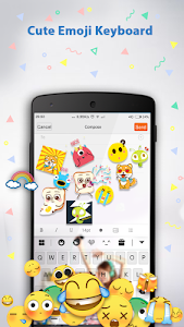 Emoji Keyboard ♥ screenshot 3