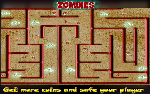 Zombie Maze Runner Escape - náhled
