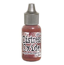 Tim Holtz Distress Oxide Ink Reinker 14ml - Aged Mahogany