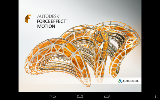 Autodesk ForceEffect Motion screenshot 6