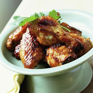 Sweet Soy Chicken Wings (Meat).