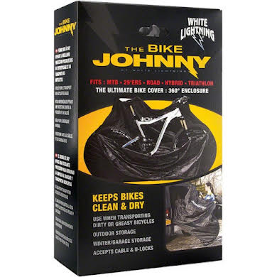 White Lightning Johnny Bike Cover