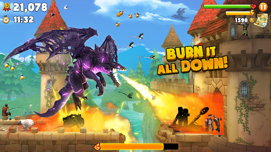 Hungry Dragon MOD APK 2.10 (MEGA HACK + Unlimited Coins) 2