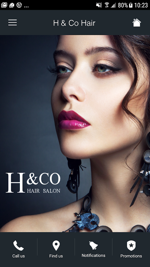 H & Co Hair Salon- screenshot