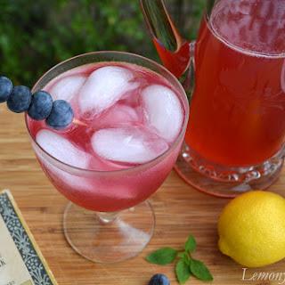 Blueberry Basil Lemonade.