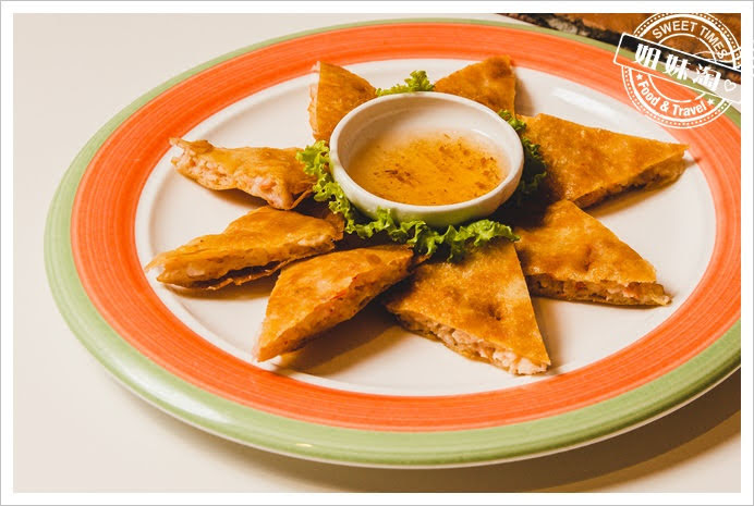 Papaya泰月亮蝦餅