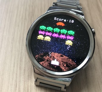 Invaders 2 (Wear OS) Screenshot