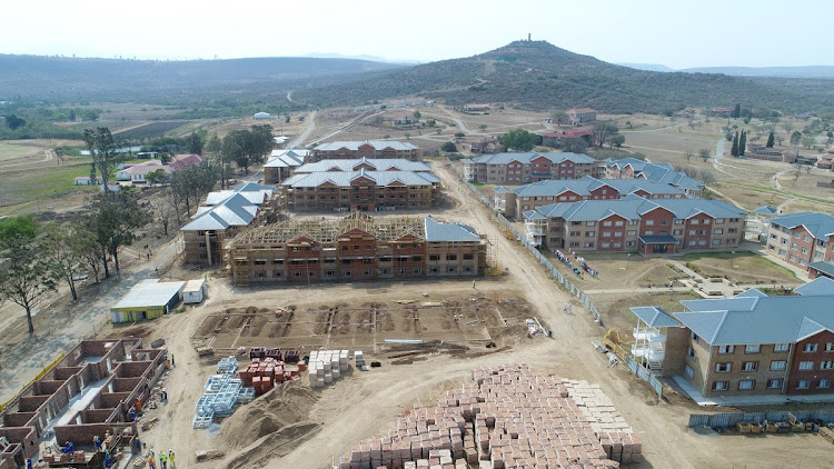The new student housing development at the University of Fort Hare Alice campus is valued at R400m and, once completed, will accommodate more than 2,000 students