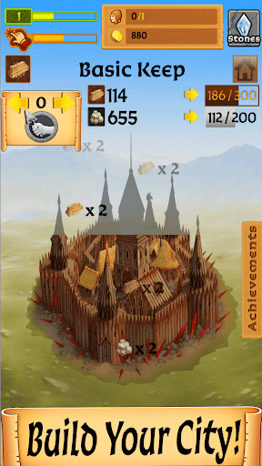 Code Triche Castle Clicker: Build a City, Idle City Builder  APK MOD (Astuce) screenshots 5