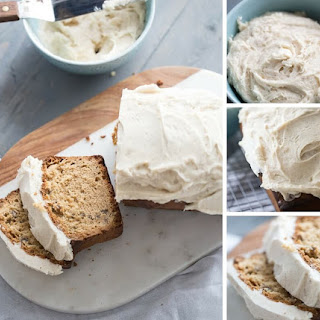 Toasted Pecan Quick Bread Recipe with Browned Butter Frosting