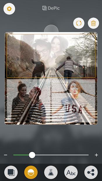 DePic PRO: Transparent Collage- screenshot