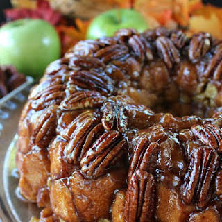 Apple Pecan Monkey Bread.