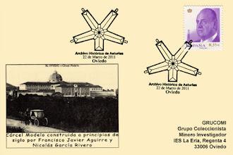 Photo: Matasellos del Primer aniversario del Archivo Historico de Asturias 2011