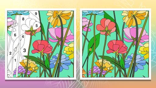 Coloring Book - Color by Number & Paint by Number 1.5.8 screenshots 8