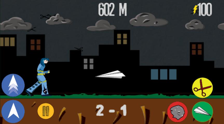 android Rock Paper Scissor! RUN! Screenshot 2