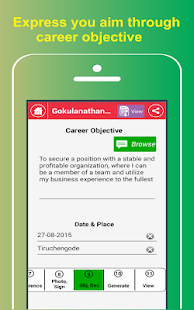 my resume buildercv free jobs screenshot thumbnail - Free Resume Builder App For Android