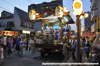 Photo: 【平成26年(2014) 宵宮】 熱気のこもった囃子連の演舞。