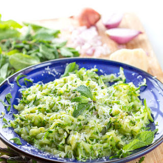 Julia Child's Sautéed Shredded Zucchini.