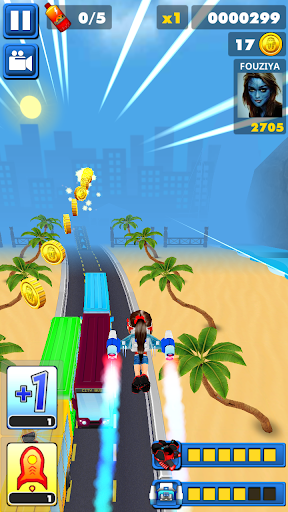 train Surf Run Fun 3d for PC
