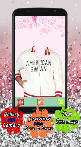 American jacket photo suit