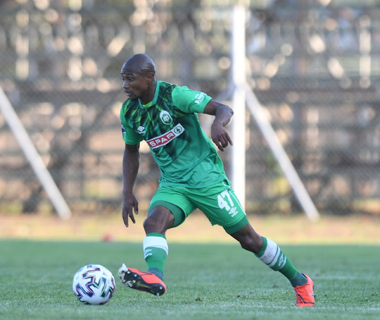 Thabo Qalinge of AmaZulu during the DStv Premiership 2020/21match between Black Leopards and AmaZulu on the 04 April 2021 at Thohoyandou Stadium, Thohoyandou.