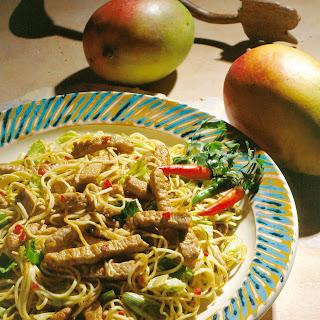 Indonesian Pork Noodle Bowl.