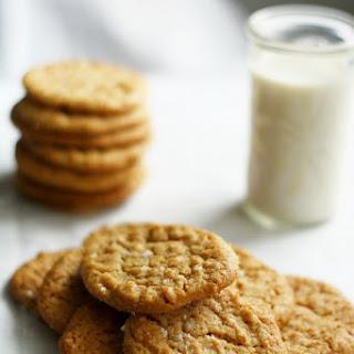 Classic Gluten Free Peanut Butter Cookies..